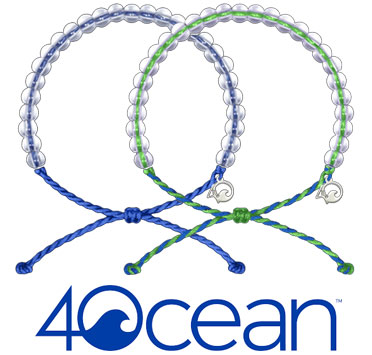 4Ocean bracelets available at Lloyd Wine Outfitters for $25/each