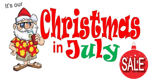 It's our Christmas in July SALE!