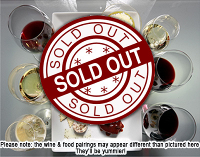 LE18 Wine & Food Tasting SOLD OUT