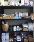 Variety of wine and beer making supplies