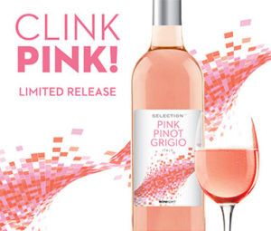 Pink Pinot Grigio Available for a Limited Time