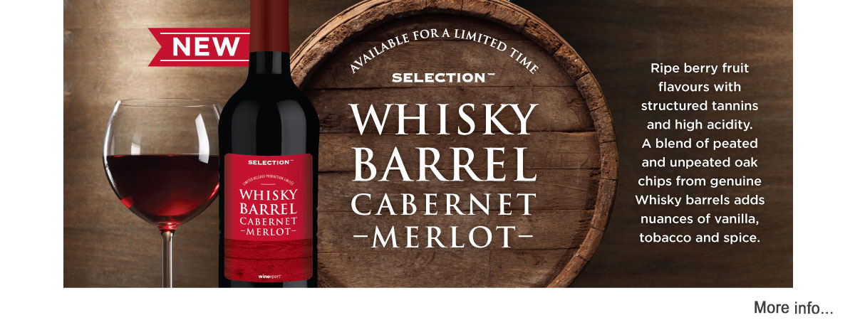 Whisky Barrel Cabernet Merlot