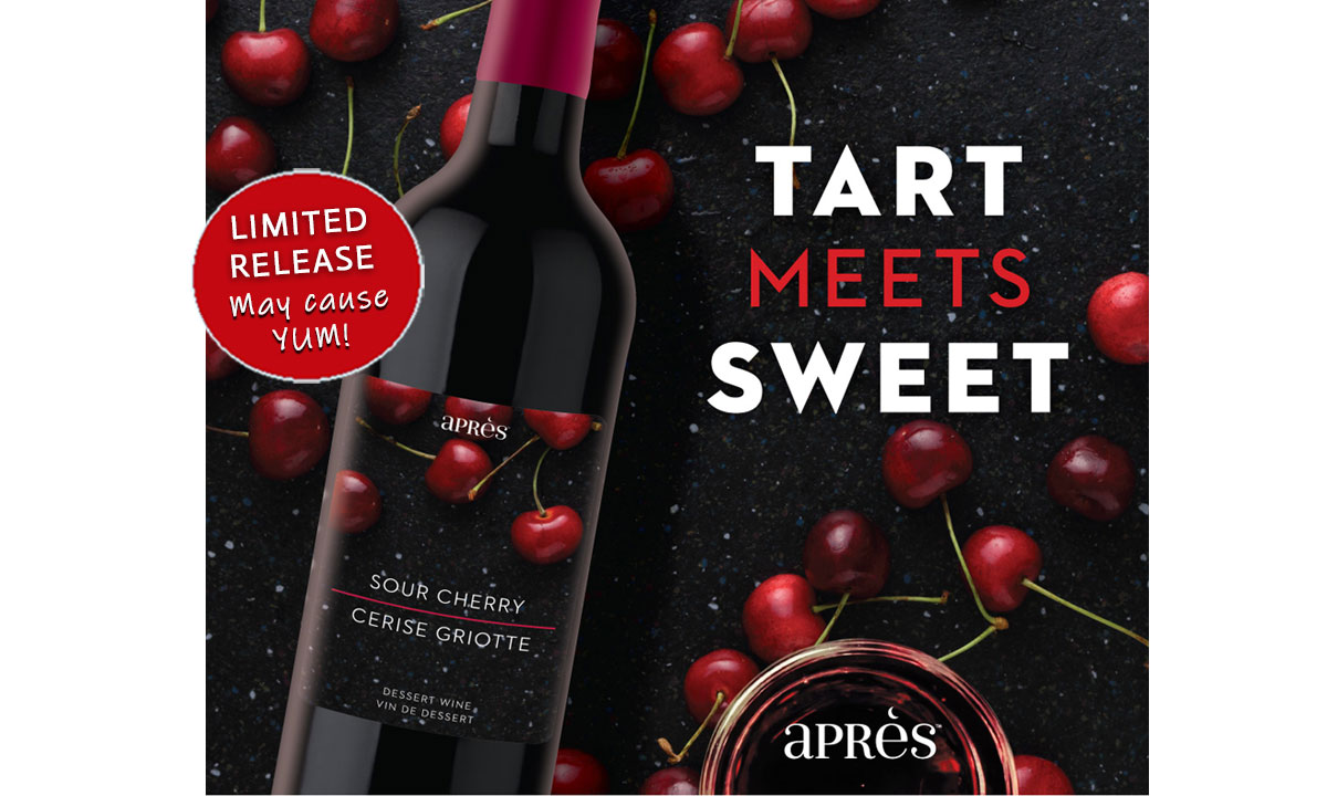 Apres Limited Release Sour Cherry Dessert Wine