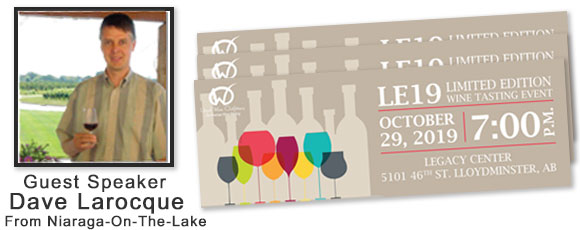 LE19 Wine Tastings with Dave Larocque