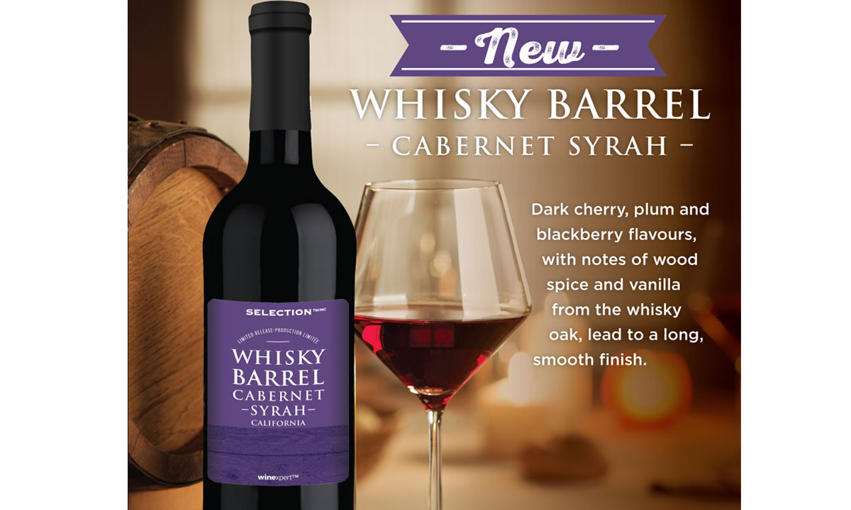 Selection Limited Release Whisky Barrel Cabernet Syrah