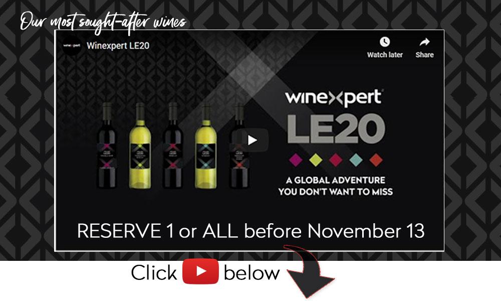 LE20 reserve before November 13